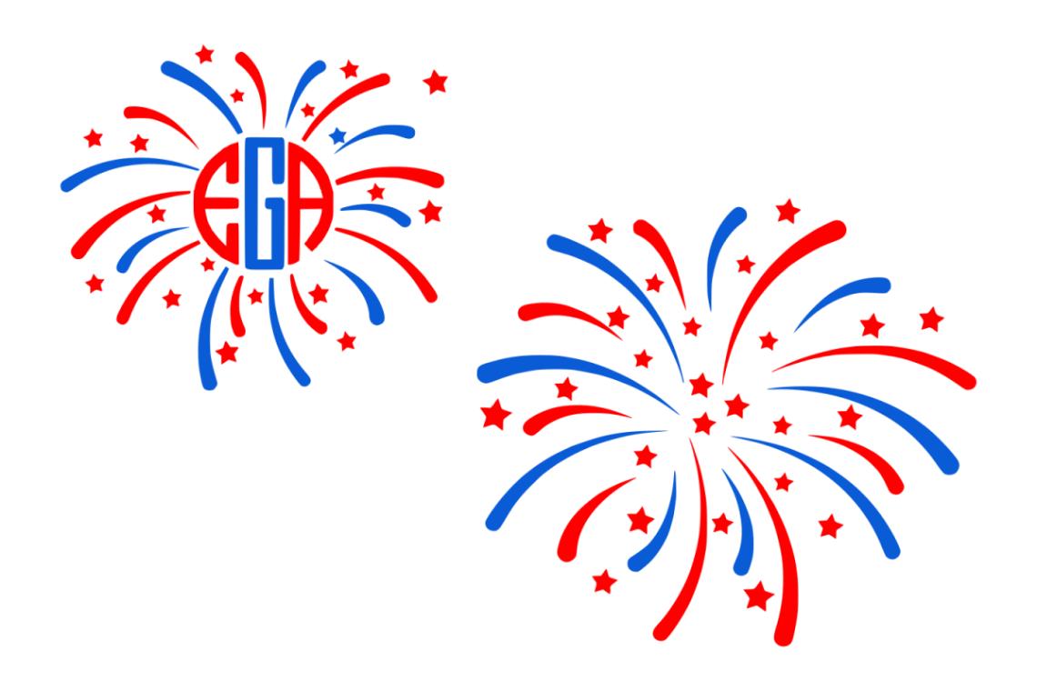 Download Fireworks svg 4th of July svg (95518) | SVGs | Design Bundles