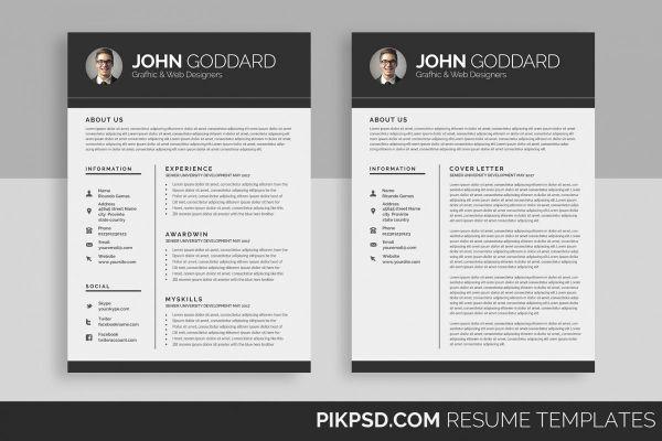 Resume/CV (2 Page)