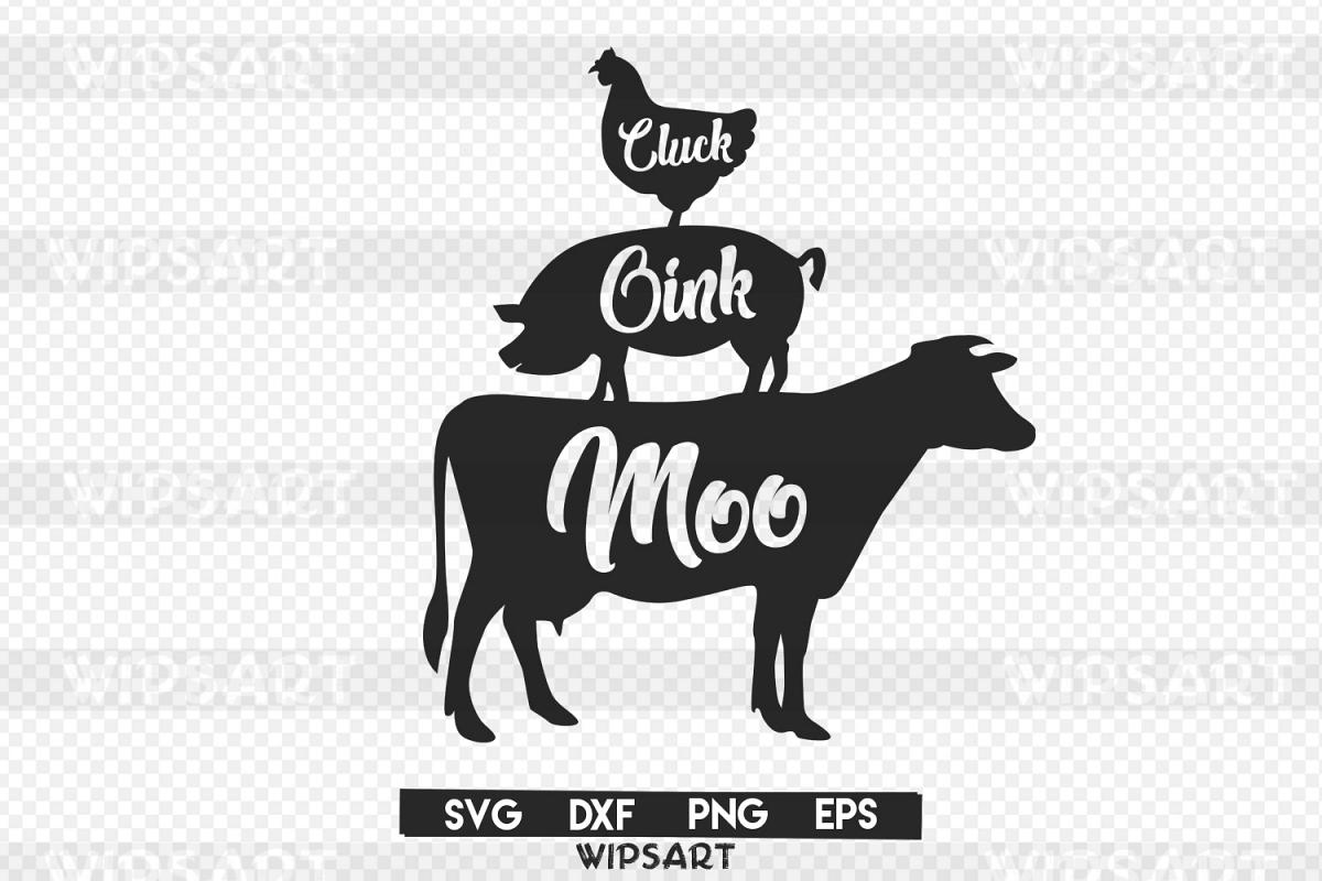 Farmhouse Svg Farm Svg Cow Svg Pig Svg Chicken Svg