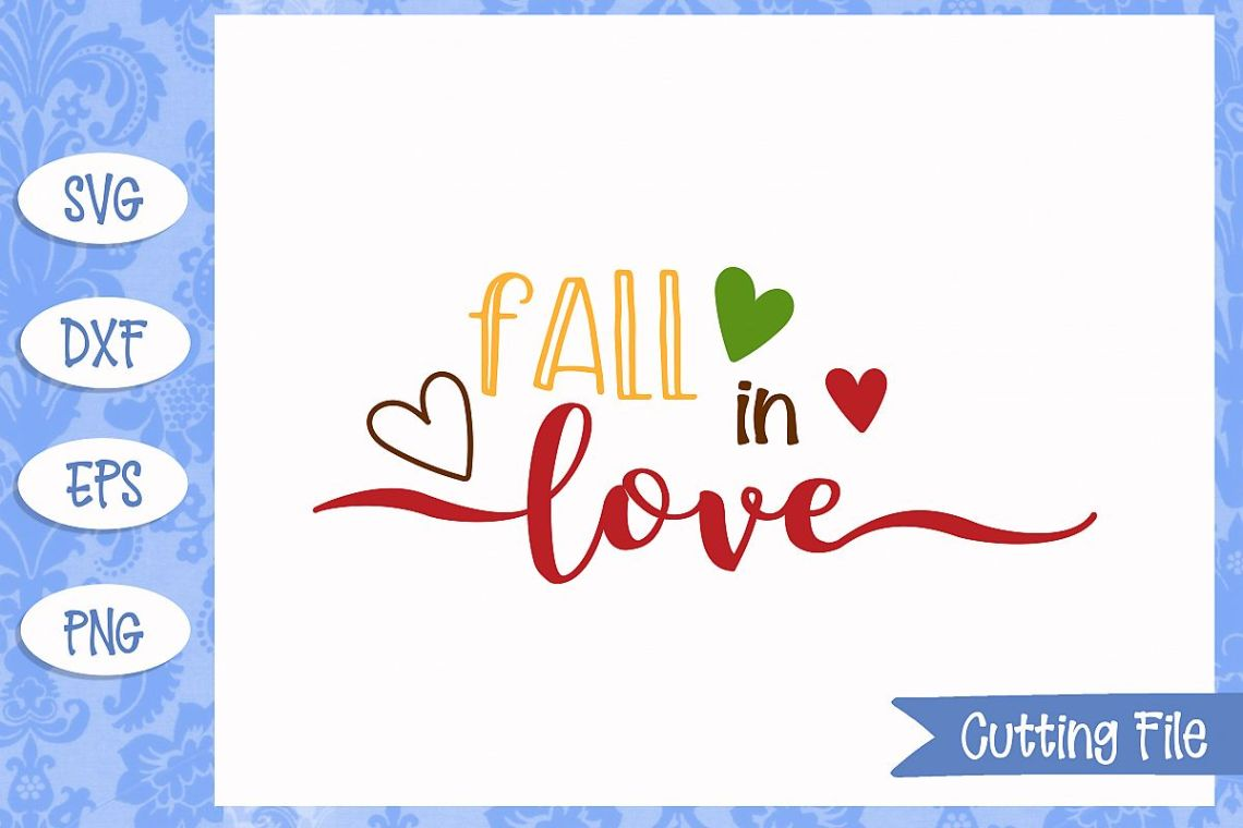 Download Fall in love SVG File