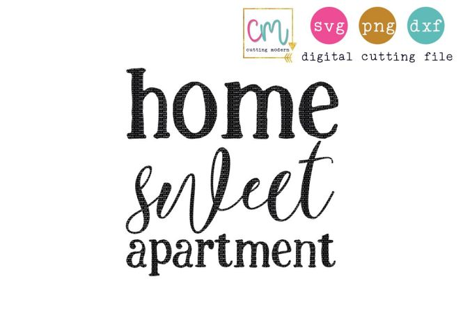 Home Sweet Apartment 114902 Svgs
