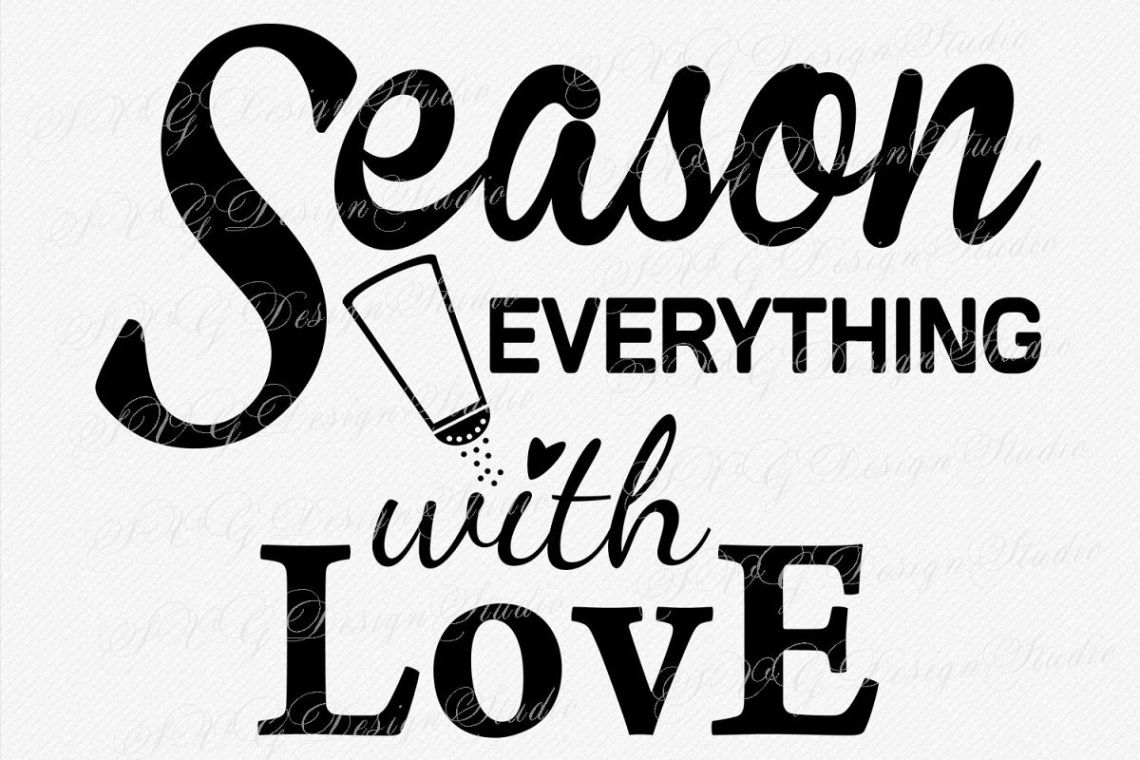 Download Season Everything with Love, SVG Vector file, Romantic ...