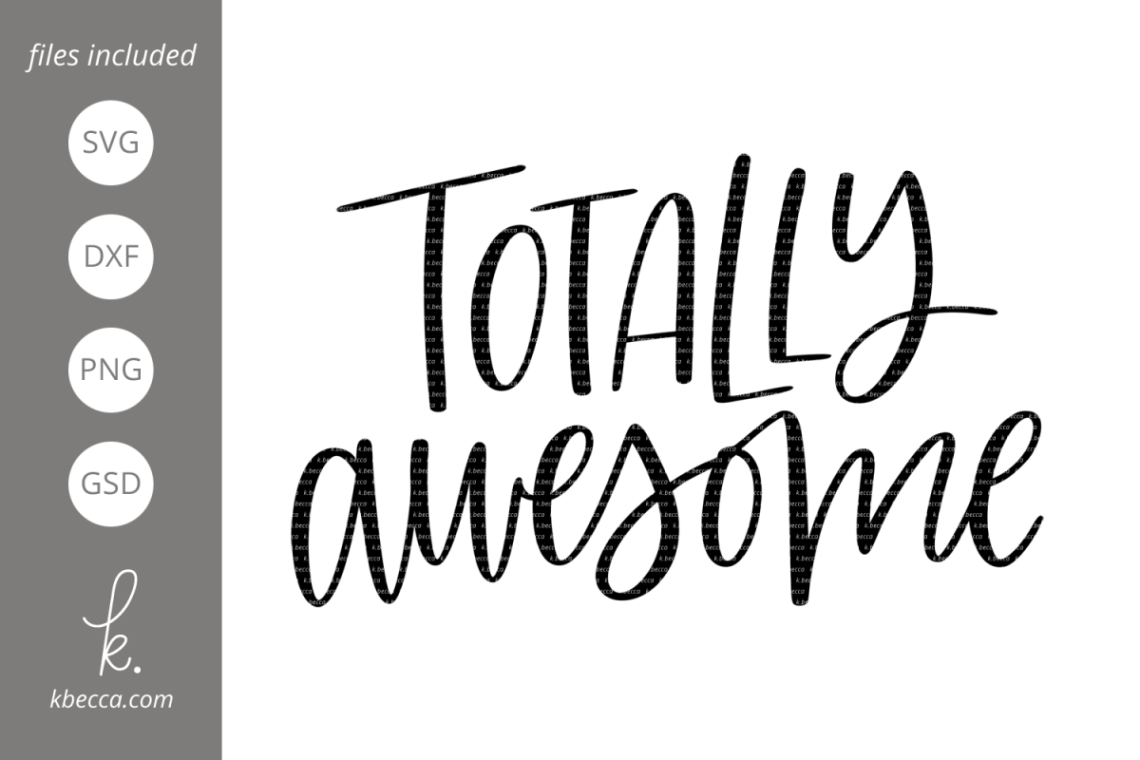 Download 80s SVG - Totally Awesome SVG
