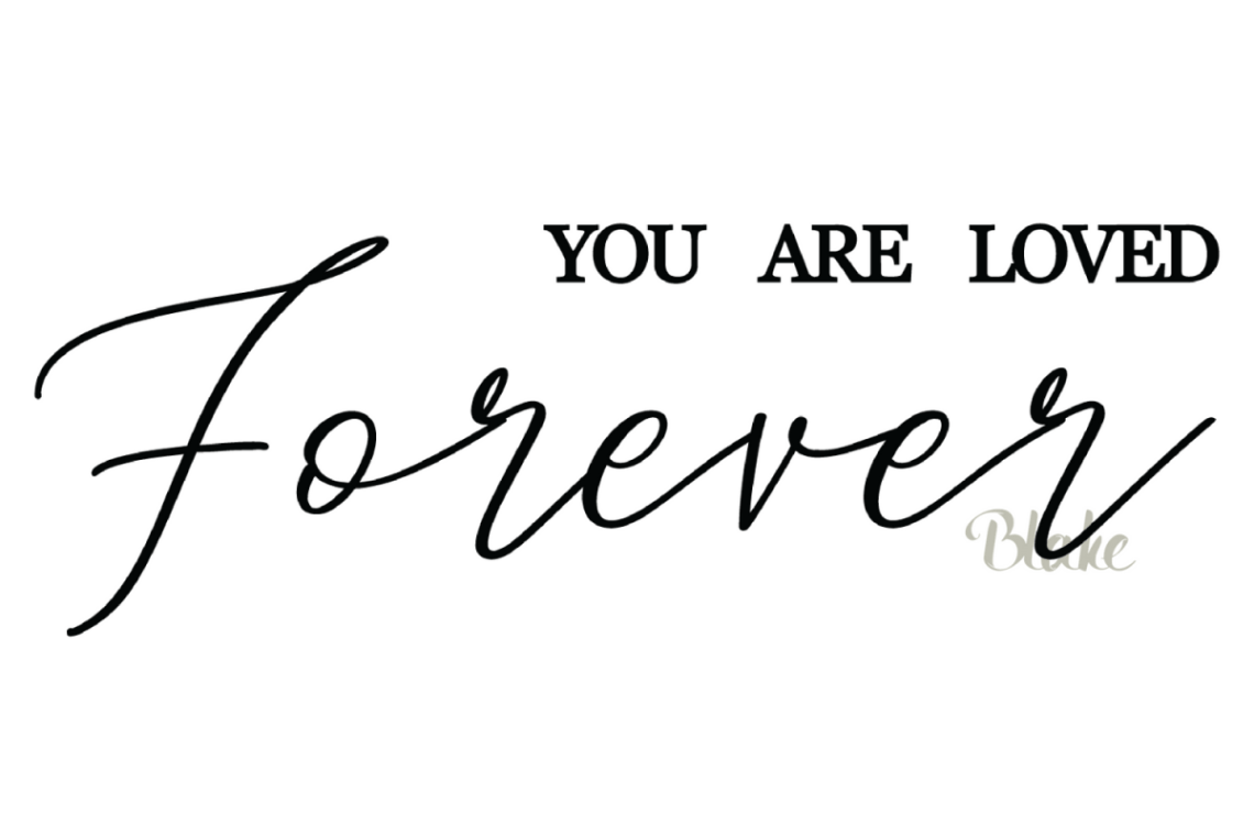 Download You Are Loved Forever svg Christian svg cut file faith svg