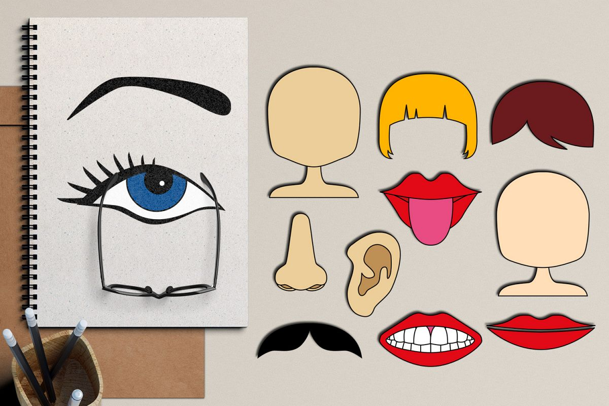 Body Parts The Face Graphics And Illustrations