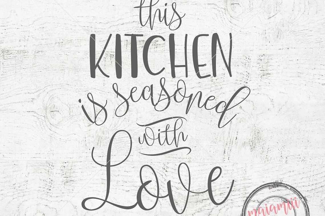 Download itchen Wall Decor Kitchen Decal This Kitchen Is Seasoned ...