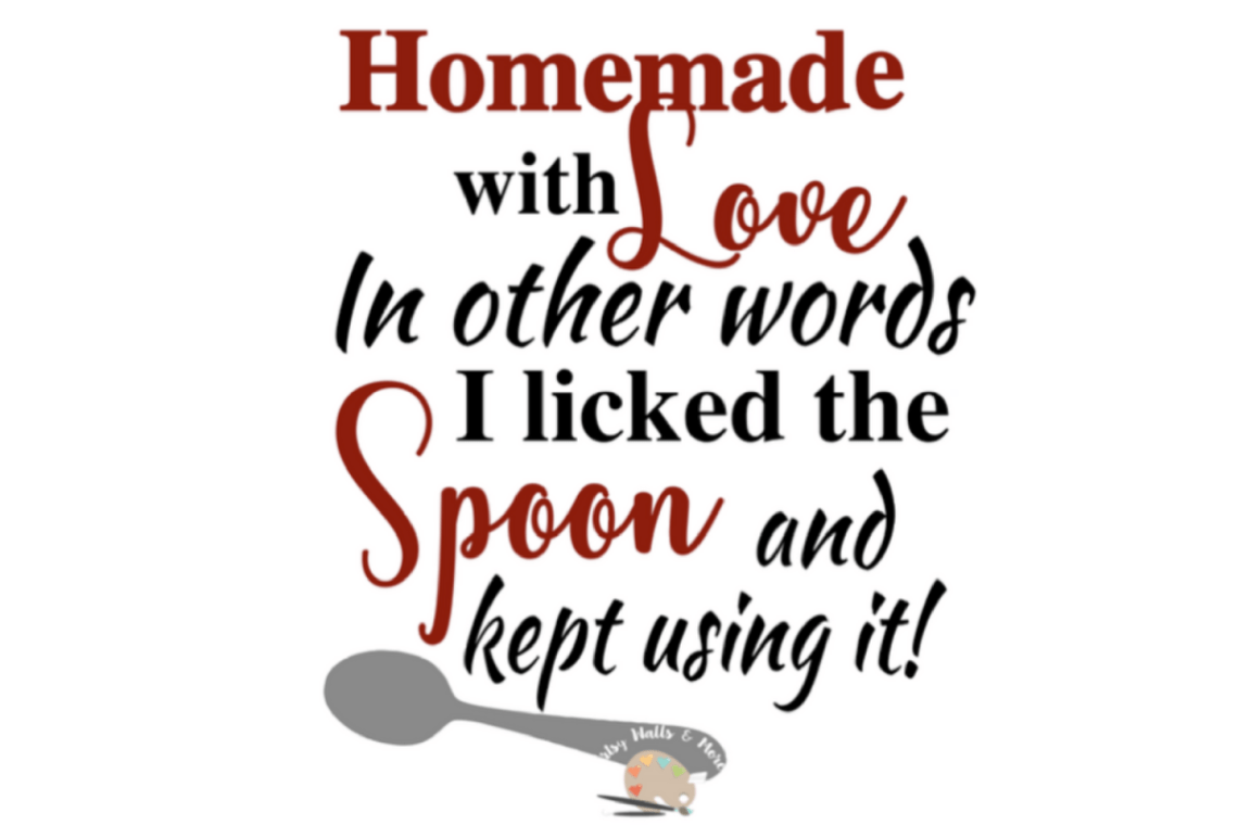 Download Homemade with love svg funny baking cooking svg file