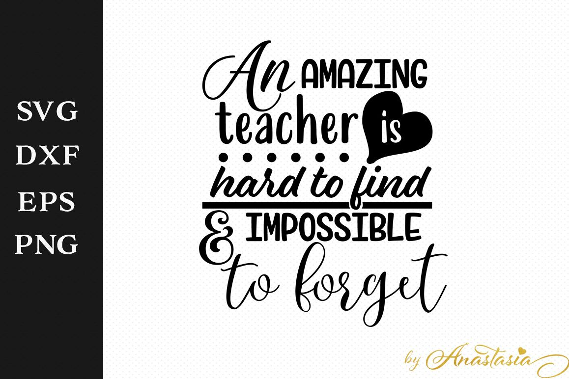 An Amazing Teacher Is Hard To Find And Impossible To