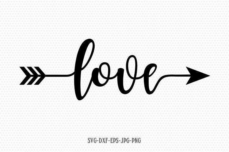 Download Love Valentine SVG, Valentines Day SVG, Love arrow SVG
