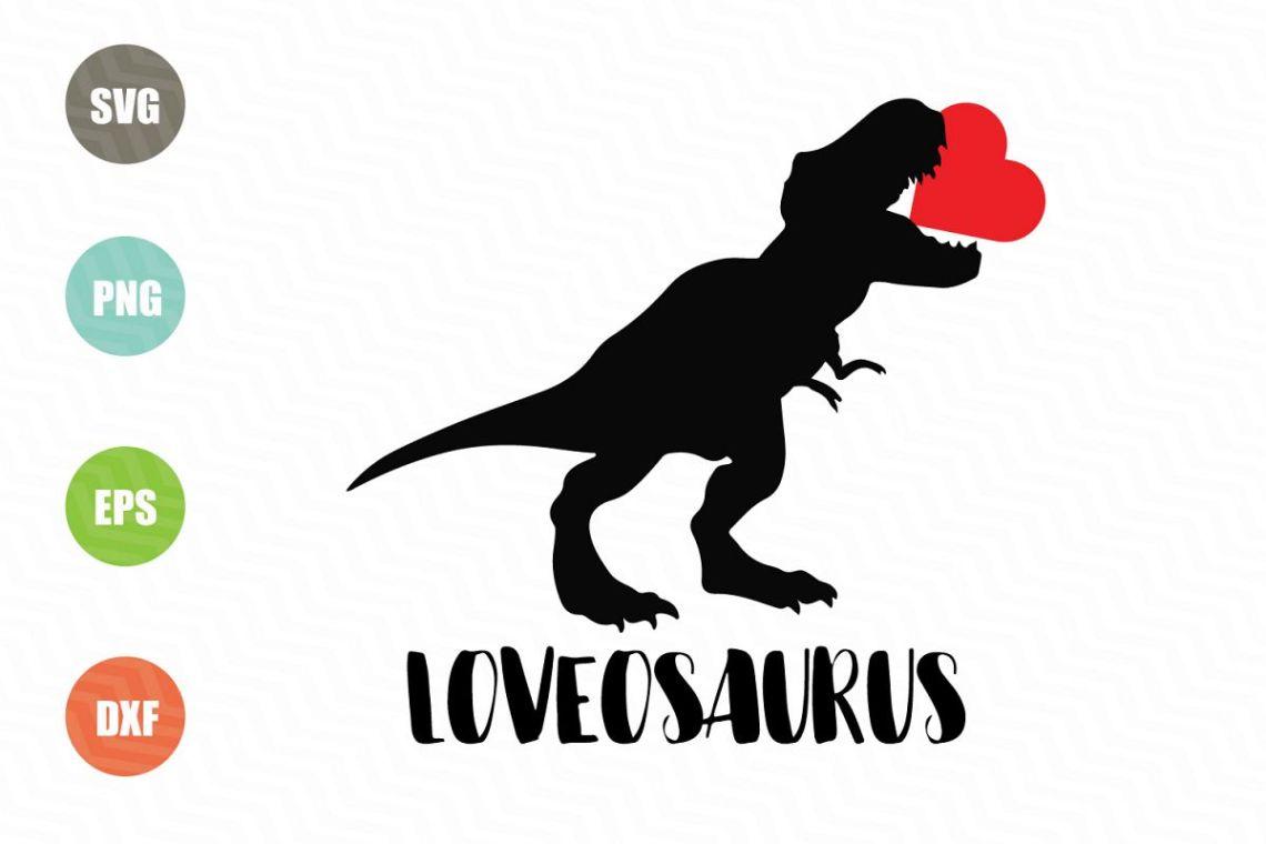 Download Dinosaur Svg, Valentine Svg File (61224)   SVGs   Design ...