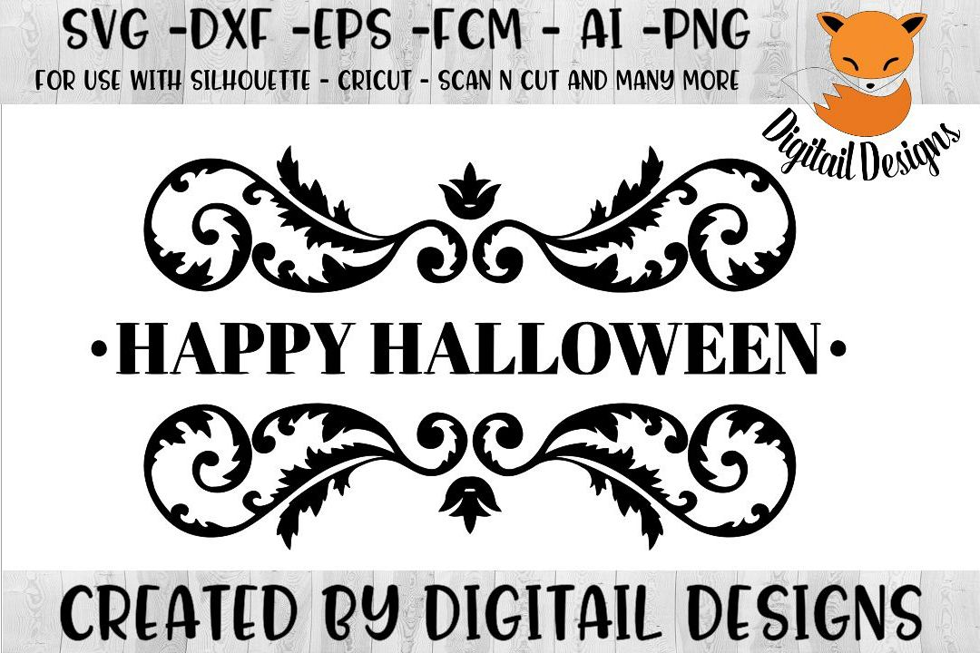 Download Happy Halloween SVG for Silhouette, Cricut, Scan N Cut