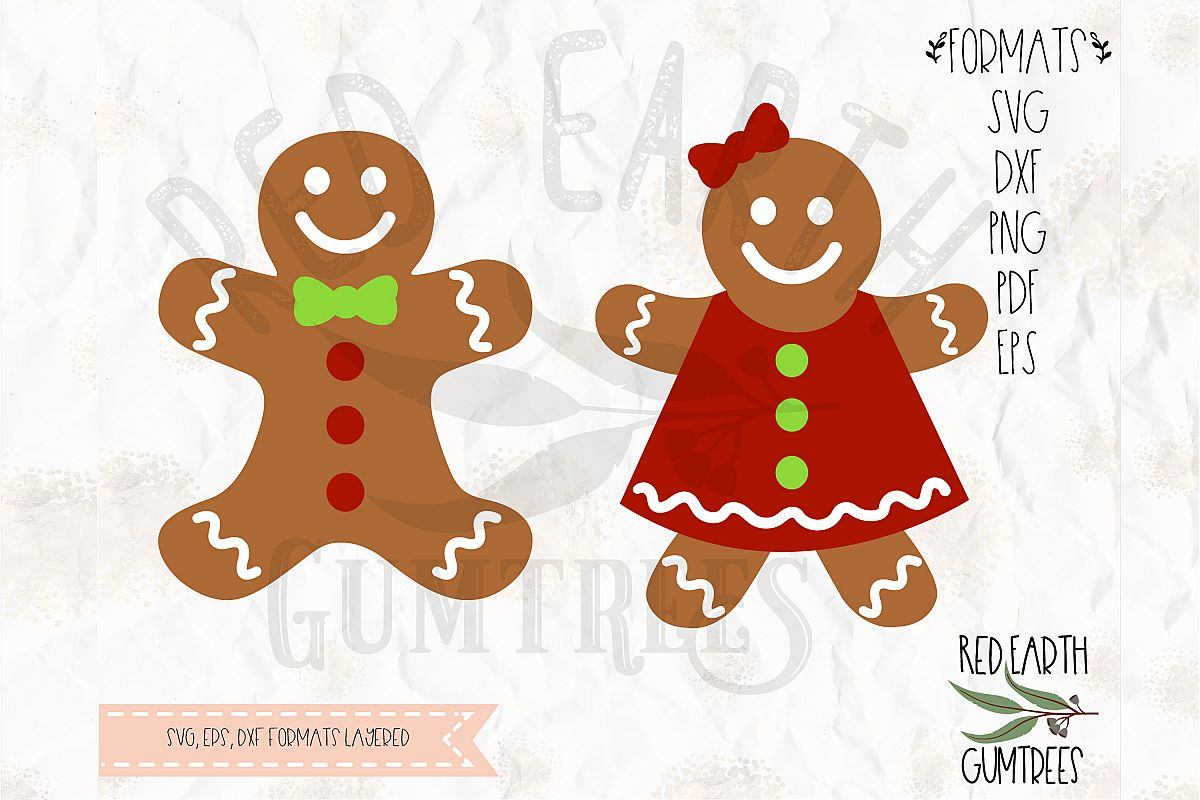Gingerbread Girl Template