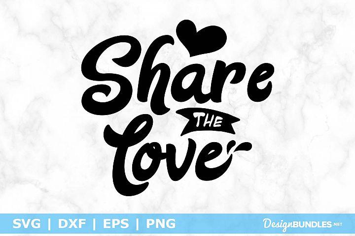 Download 最新のHD Share The Love Svg - できる