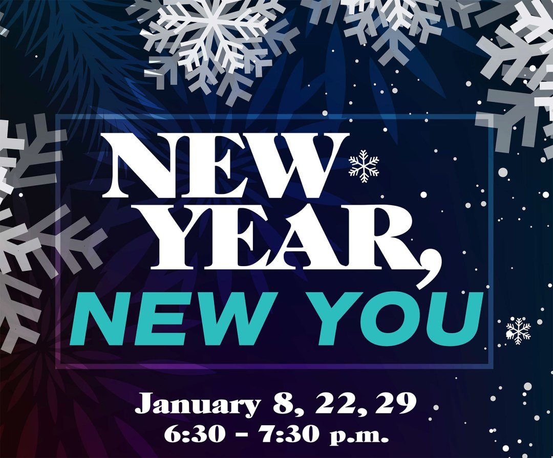 Button to learn more about New Year, New You
