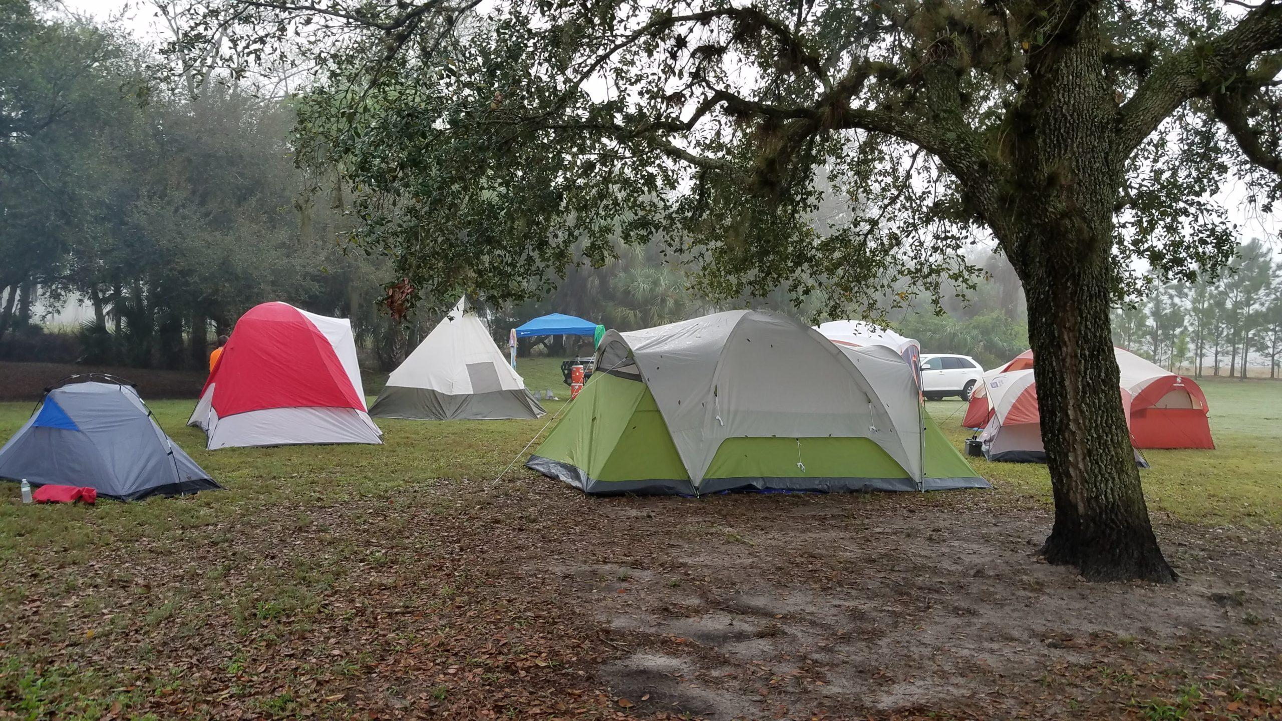 National Backyard Campout – April 17th