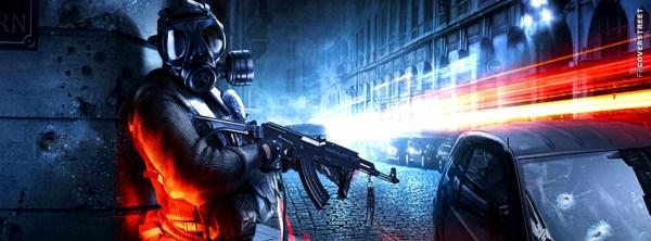Battlefield 3 Gas Mask Facebook Cover FBCoverStreetcom