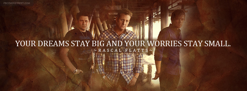 Rascal Flatts My Wish Lyrics Facebook Cover