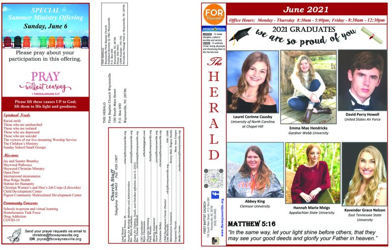 Newsletter June 2021 1 scaled First Baptist Church