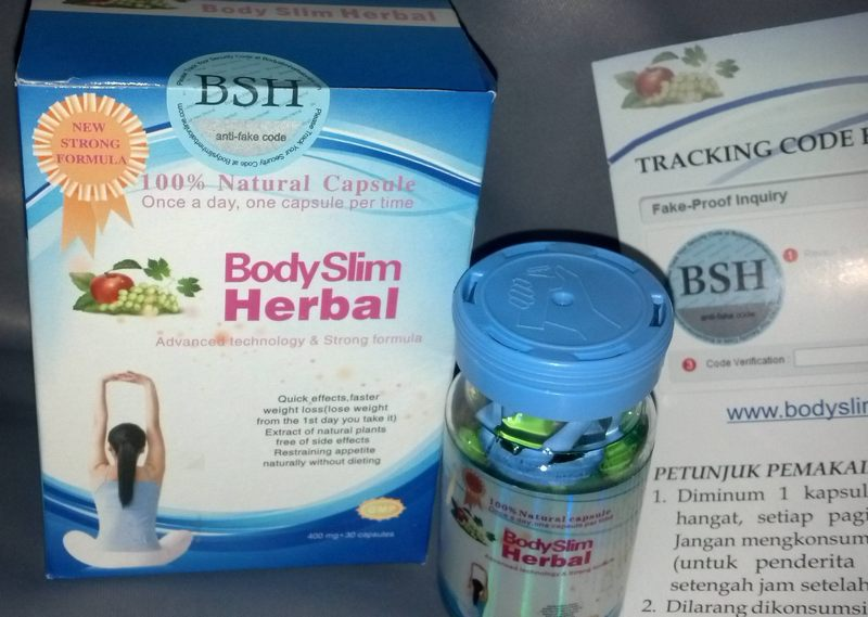 Body Slim Herbal Asli Pelangsing Aman