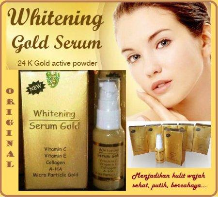 Serum Gold Whitening murah