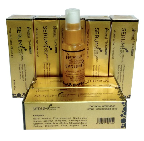 hanasui serum gold bpom