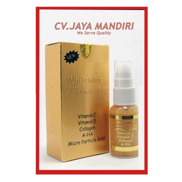Serum Gold Whitening Serum Untuk Wajah