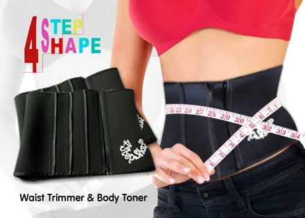 Manfaat 4 Step Shape Slimming Belt