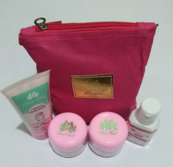 been pink paket flek
