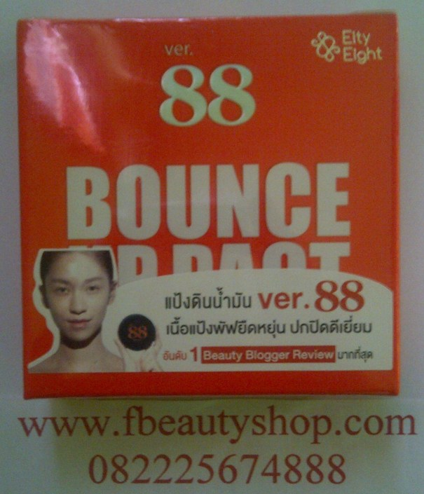 Bedak Bounce up pact ver 88 original