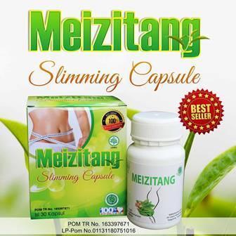 Meizitang Slimming Capsule Bpom Original Kapsul Pelangsing M