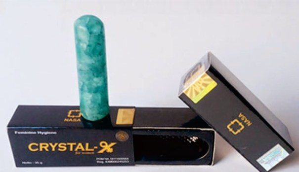 Crystal X nasa obat keputihan pada wanita