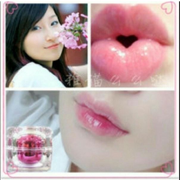 Nenhong Korea Lipgloss Pemerah bibir Alami