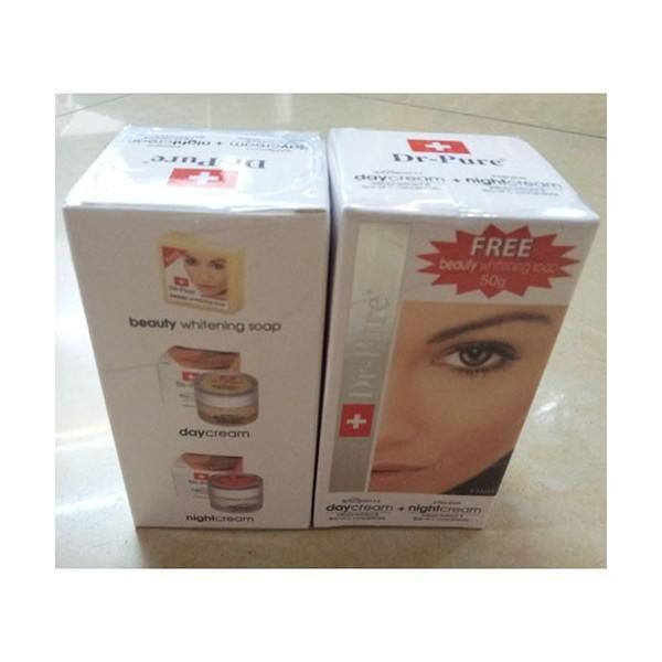 paket dr pure whitening cream