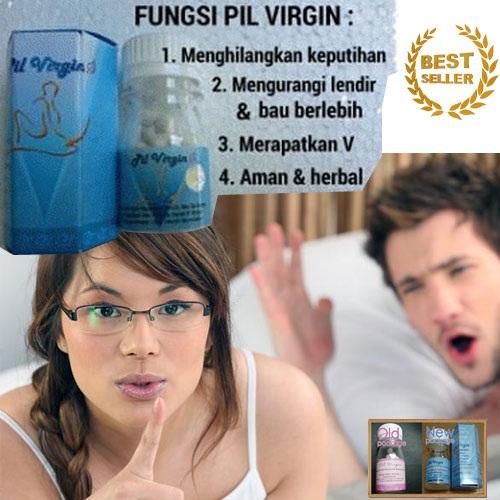 pil virgin biru baru