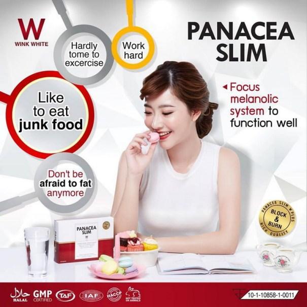 cara konsumsi panacea slim