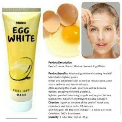 masker telur