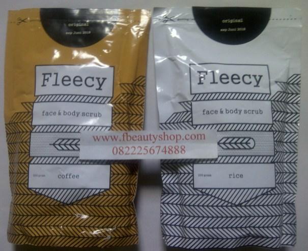 fleecy Coffe scrub fleecy rice scrub