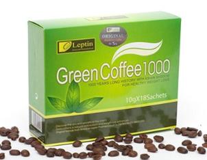 Jual Kapsul Pelangsing Green Coffee Bean