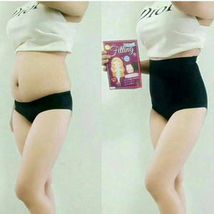 top slim fitting korslet perut