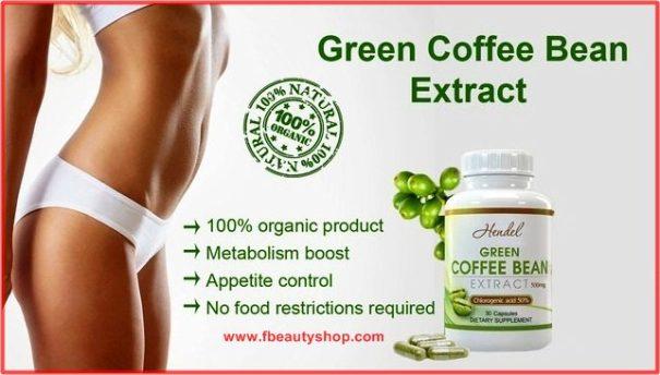 Green Coffee Bean Kopi Suplemen dan Pelangsing aman