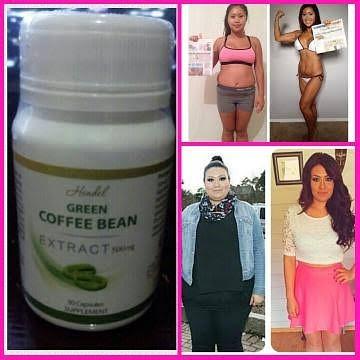 Exitox Green Coffee Bean Obat Pelangsing Badan Alami