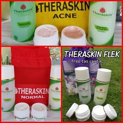 theraskin paket normal paket acne dan paket flek