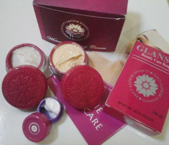 Cream Glansie Paket Normal Original 2