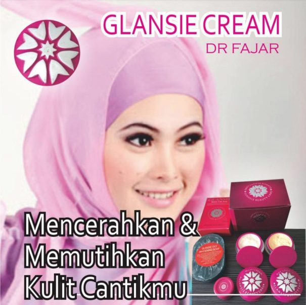 Glansie Beauty Scare Whitening Paket Normal dan Acne