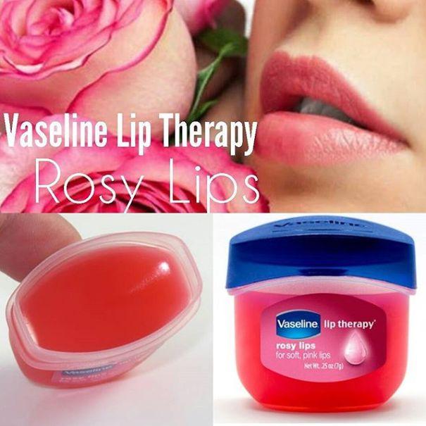 vaseline lip therapi rosy lips