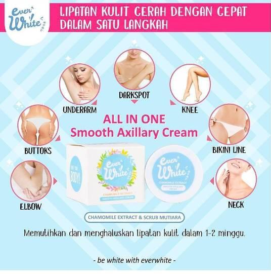 EVERWHITE SMOOTH AXILLARY CREAM EVER_WHITE BLUE
