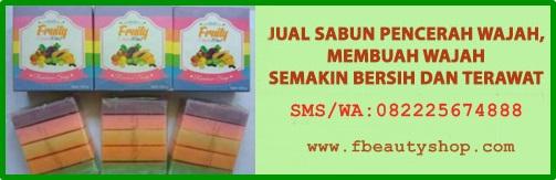 JUAL SABUN FRUITY