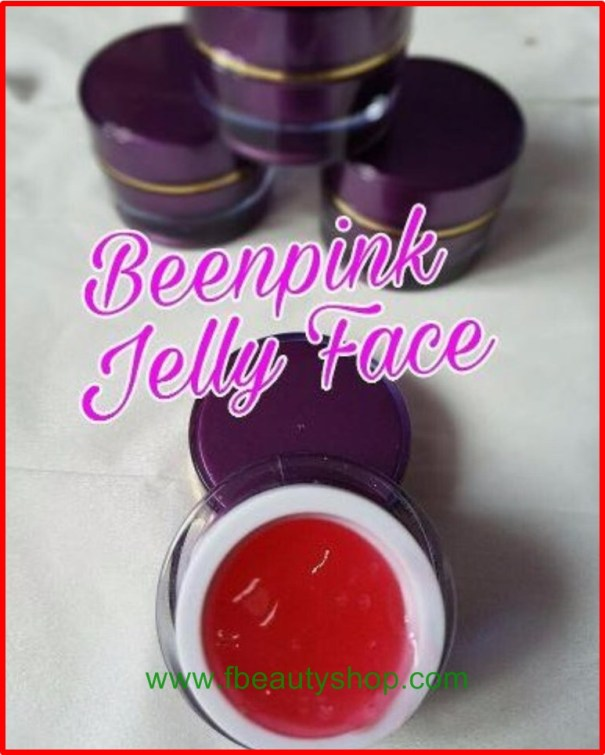 been pink jelly face spotless white glow uv
