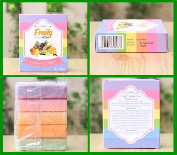 sabun fruity asli