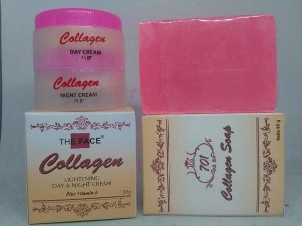 paket the face cream collagen
